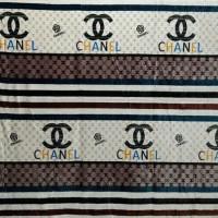 Selimut Bulu Halus Uk.150 X 200 Motif Chanel Limited