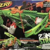 Pistol Panah NERF Crossbow Zombie Strike OUTBREAKER BOW Hasbro ORI