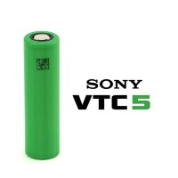 VTC5 2600mah (US18650VTC5) By Sony - Battery For Vaping Authentic US