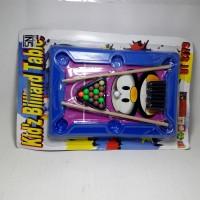 mainan anak game board meja billiard murah meriah
