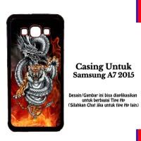 Casing Samsung A7 2015 tiger z3 api Custom Hardcase Cover