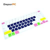 Jual  Macbook Air 13  Pro 13 Silicone Keyboard Cover Protector Ski T3009 Murah