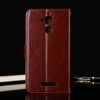 Leather FLIP COVER WALLET Asus Zenfone 3 Max 55 ZC553KL Case T3009