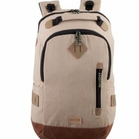 Tas Ransel Tas Laptop Daypack Canvas Unisex RFWN 04