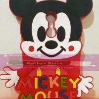 Jual  Case 4D karakter Mickey Mouse Xiaomi Redmi Note 3 softcase 3D kar T19 Murah