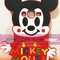 Jual  Case 4D karakter Mickey Mouse Samsung J2 softcase soft 3D kartun T191 Murah
