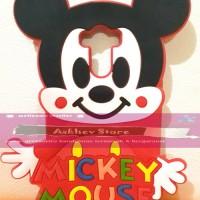 Jual  Case 4D karakter Mickey Mouse Xiaomi Redmi 4 Prime softcase 3D ka T19 Murah