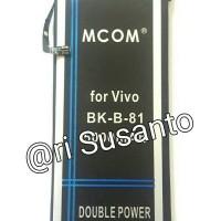 Jual  Baterai M COM BK B 81 For VIVO X5 Pro Double Power 5000mAh T1910 Murah