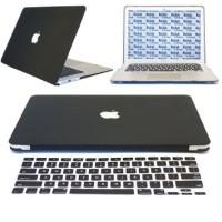Jual Murah Color Silicone Keyboard Cover Skin for Macbook Air 13 Pro Black Murah