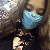CT004 Masker Kain Penutup Hidung Mulut Anti Debu Asap Masker Motor