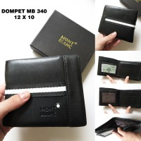 DOMPET COWOK MB 340 HITAM - DOMPET COWOK BRANDED