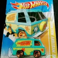 Mobil Mainan HOT WHEELS SCOOBY DOO THE MYSTERY MACHINE