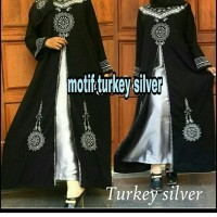 Jual abaya gaun dress turki murah Murah