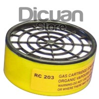 Jual Krisbow Cartridge / Filter Uap Organik & Asap Cat Masker Respirator Murah