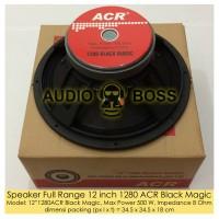 Speaker Full Range 12 inch 1280 ACR Black Magic/FullRange ACR 12