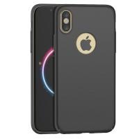 IPhone X Baby Skin Ultra Thin Hard Case Biru Silver Pink Hijau