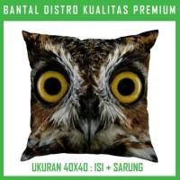Jual Bantal Owl 37 HOWL37 Bantal Sofa/Mobil Murah
