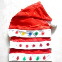 Jual Topi Santa Natal Lampu Nyala Murah