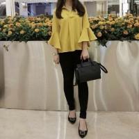 Jual x93 Bonila blouse Bahan twiscone fit L Murah