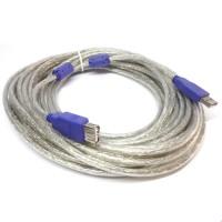 Jual KABEL USB EXTENTION 10 M MALE - FEMALE (perpanjang usb 10 mete  Murah