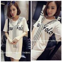 Jual [minidress HOLIO SL] dress wanita spandex warna putih Murah