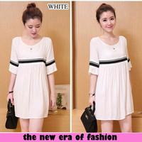 Jual [d1035 dress cathrine xl DR] dress wanita spandex putih Murah