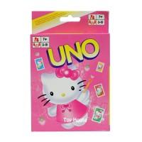 Jual Mainan Anak Kartu UNO Karakter Hello Kitty / Uno Card Games Murah
