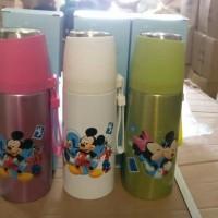 Jual Termos Vacuum SPORT / Botol Minum Sport 500ml - Mickey Diskon Murah