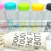 Jual My Bottle + Pouch / Botol Minum Infused Water 500ml Gra Berkualitas Murah