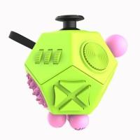 Jual Mainan Pelepas Stress Hexagon Fidget Cube - Green  Murah
