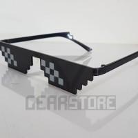 Kacamata Hitam Thug Life - Deal With It Sunglasses - Greget - Thuglife