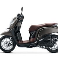 Stylish Matte Brown All New Scoopy GRY+ Honda Motor OTR KUDUS