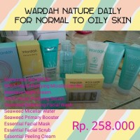 Paket Wardah Nature Daily For Normal To Oily Skin