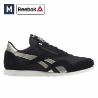 Sepatu Wanita Reebok CL Slim Nylon Sneakers Original
