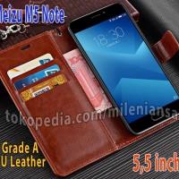 Flipcase Slim Kulit Book Leather Flip Case Cover Casing Meizu M5 Note