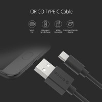 Kabel Data Original ORICO USB Type C Fast Charging Charge Charger 2A