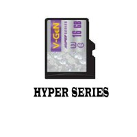 Jual V-GEN Micro SD 16GB Non Adapter Hyper Series Class 10 Ultra 3 Murah