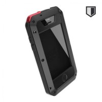 Jual Lunatik Hardcase Armor Waterproof with Gorilla Glass -Iphone 5s-Hitam Murah