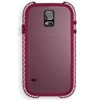 Jual Lunatik Seismik Suspension Frame Softcase-Samsung Galaxy S5-Ungu Murah