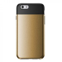 Jual Lunatik Flak Dual Layer Jacket Softcase for iPhone-iPhone 6/6s-Gold Murah