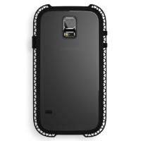 Jual Lunatik Seismik Suspension Frame Softcase-Samsung Galaxy S5-Hitam Murah