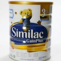 Susu Similac Gain Plus 850 gram utk 1 - 3 th