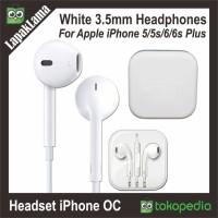 Jual Headset Earphones iPhone 5 5s 6 6s 6Plus Earpods Handsf Murah Murah