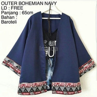 Jual Baju Outer Wanita Blazer Cardy Outer Bohemian Atasan Wanita Terbaru Murah