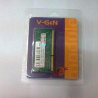 Jual V-GEN DDR3 4GB PC 10600/12800 FOR NOTEBOOK Murah