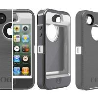 Jual Case Casing Iphone 4 /4S Otterbox Defender anti shock hard tough back Murah
