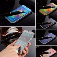 Jual 3. SAMSUNG S5 | Mirror Cover Flip Case for Samsung Galaxy S5 / G900I Murah