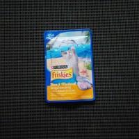 Jual Makanan Basah Kucing - Friskies Tuna & Mackerel 80g Murah