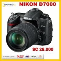 Nikon D7000 DSLR SC Rendah   Lensa KIT Nikkon BANYAK BONUS !!!