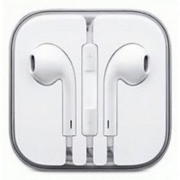 Jual Apple EarPods Earphones for iPhone 5/5s/6/6Dan/iPod  Original  White Murah